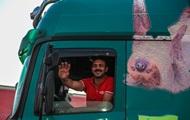 На Київщині обмежили рух вантажівок через спеку