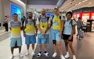 Первая большая группа украинских олимпийцев отправилась в Токио