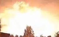Над Турцией засняли вспышку в небе