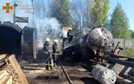 У Житомирі на підприємстві спалахнула цистерна з пальним
