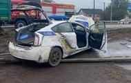 На Рівненщині в ДТП постраждали поліцейські
