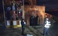На Одещині школяр підпалив церкву