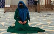 Савченко в парандже и на коленях похвалила ислам
