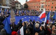 Майдан в Польше. Опасаются выхода из Евросоюза
