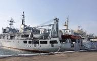 З'явилося відео пошкоджень корабля ВМФ України, що зазнав аварії