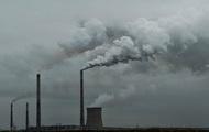 Объем выбросов в атмосферу Украины снизился на 8%