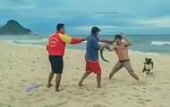 В Бразилии мужчина дрался с помощью крокодила