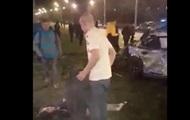 ДТП в Харькове: появились видео первых минут. 18+