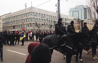 МВД: На марше Саакашвили меньше двух тысяч человек