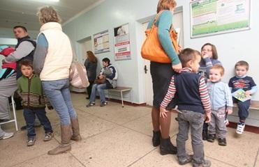 В Киеве начался бум вакцинации от кори