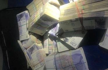 Львовские таможенники задержали рекордное количество валюты