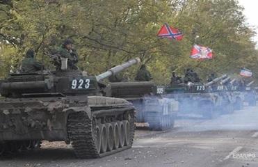 ОБСЕ показала армаду военной техники под Луганском