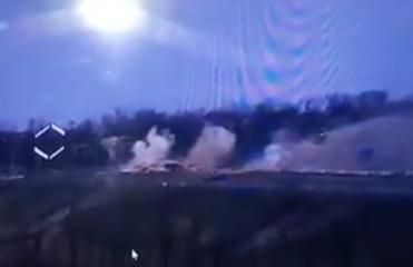 В сети показали уничтожение блиндажа сепаратистов