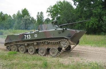 В Мукачево авария боевых машин: есть пострадавшие