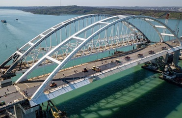 Google Maps подписал Крымский мост на украинском языке