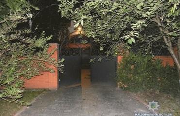 В жилой дом в Ровно бросили гранату