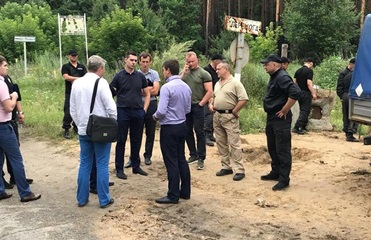 Под Киевом неизвестные напали на работников облгаза