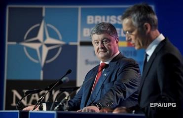 Порошенко заявил, что НАТО мотивирует на реформы