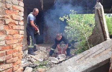 В Харьковской области мужчина погиб, пытаясь вырезать металл из стены