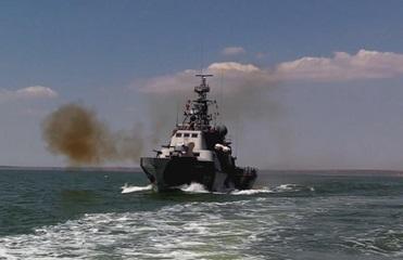 Силы ООС провели учения в Азовском море