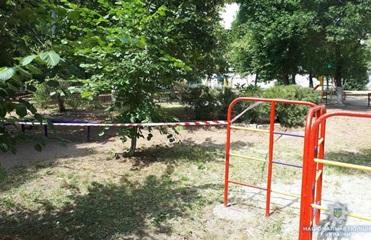 На детской площадке в Краматорске мальчик нашел снаряд