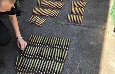 В Мариуполе обнаружили склад оружия