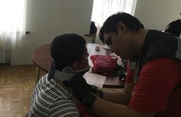 В университете Богомольца полицейские избили студентов
