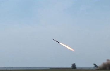 Опубликовано видео испытаний новой украинской крылатой ракеты