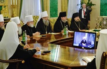 Глава УПЦ МП отказался встречаться с экзархами