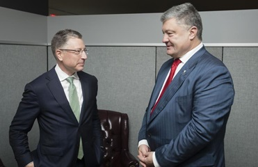 Порошенко и Волкер обсудили ситуацию на Донбассе