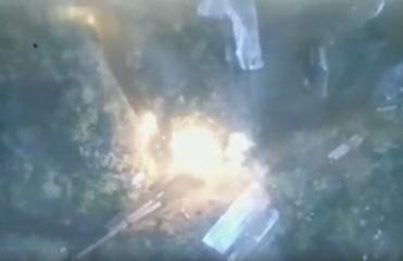 В сети показали уничтожение позиций сепаратистов