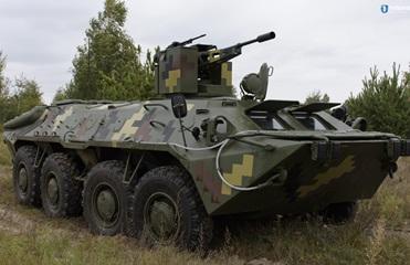 В Украине показали модернизированный БТР-70