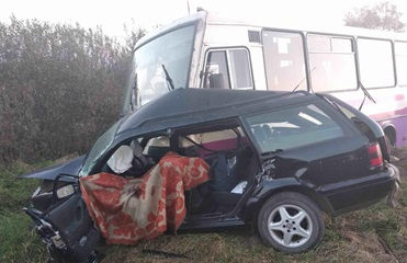 На Львовщине два человека погибли в ДТП с маршруткой