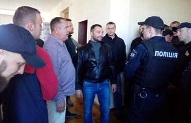 В Житомирском облсовете произошла потасовка