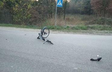 Под Львовом в аварии погибли велосипедист и мотоциклист