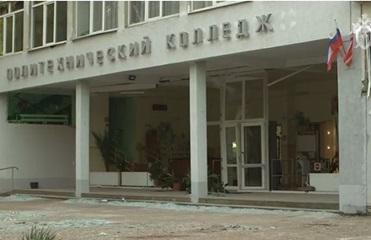 В Керчи пострадавший от взрыва колледж снова принял студентов