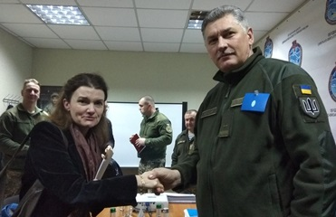 Глава миссии ООН в Украине приехала на Донбасс