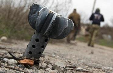 На Донбассе за день два минометных обстрела