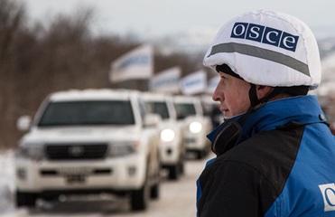 ОБСЕ зафиксировала гаубицы и Грады сепаратистов