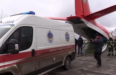 Из зоны ООС в Киев эвакуировали 12-летнюю девочку в коме