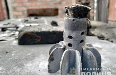 Полиция показала последствия обстрела жилых домов в Марьинке