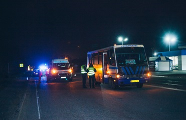 Под Днепром автобус насмерть сбил пешехода