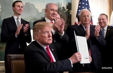 Итоги 25.03: Подарок Трампа Израилю и цена Крыма