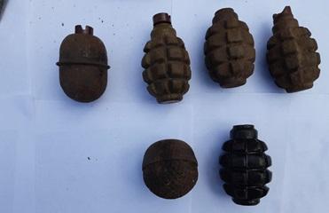 В Запорожской области у мужчины изъяли гранаты и взрывчатку