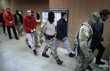 В РФ украинским морякам впервые разрешили позвонить родным