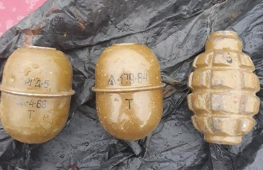 В Днепропетровской области задержали торговца гранатами
