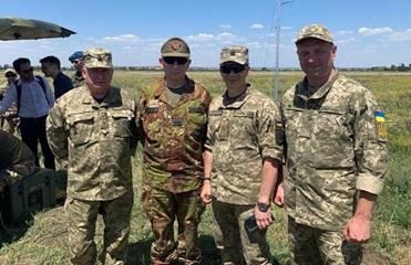 На Донбасс приехал глава Военного комитета ЕС