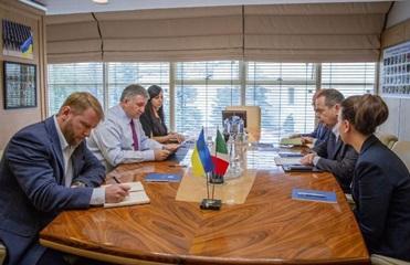 Приговор Маркиву: Аваков поговорил с послом Италии