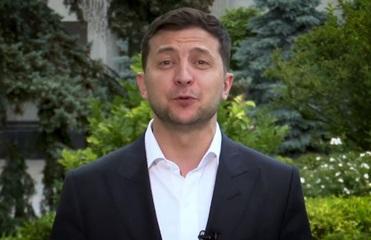Зеленский записал видео на английском языке