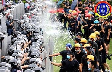 МИД рекомендовал украинцам не участвовать в протестах в Гонконге